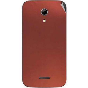 Snooky 44183 Mobile Skin Sticker For Micromax Canvas 2.2 A114 - Copper
