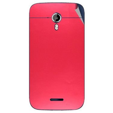 Snooky 44194 Mobile Skin Sticker For Micromax Canvas Magnus A117 - Red