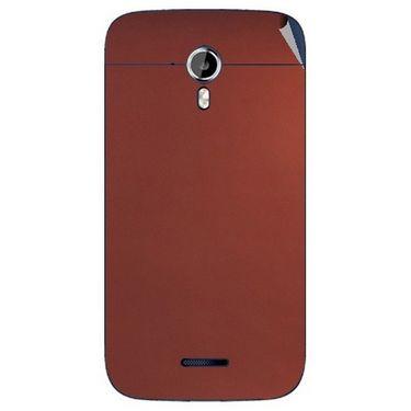 Snooky 44195 Mobile Skin Sticker For Micromax Canvas Magnus A117 - Copper