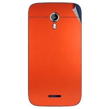 Snooky 44198 Mobile Skin Sticker For Micromax Canvas Magnus A117 - Orange