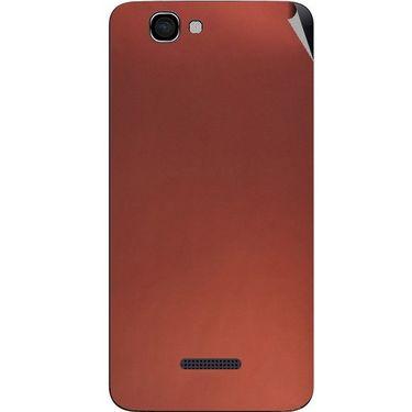 Snooky 44207 Mobile Skin Sticker For Micromax Canvas 2 A120 - Copper
