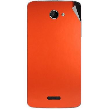 Snooky 44222 Mobile Skin Sticker For Micromax Canvas Elanza 2 A121 - Orange