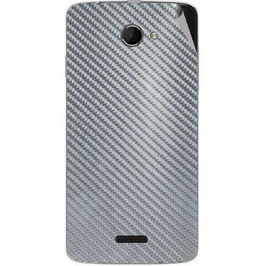 Snooky 44226 Mobile Skin Sticker For Micromax Canvas Elanza 2 A121 - silver