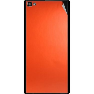Snooky 44390 Mobile Skin Sticker For Xolo Hive 8X 1000 - Orange