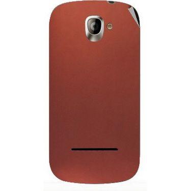 Snooky 44399 Mobile Skin Sticker For Xolo A500 - Copper