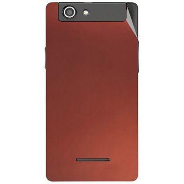 Snooky 44423 Mobile Skin Sticker For Xolo A500s - Copper