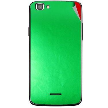 Snooky 44440 Mobile Skin Sticker For Xolo A500s Lite - Green