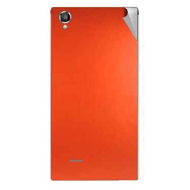 Snooky 44462 Mobile Skin Sticker For Xolo A550S IPS - Orange