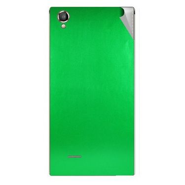 Snooky 44464 Mobile Skin Sticker For Xolo A550S IPS - Green