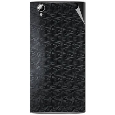 Snooky 44472 Mobile Skin Sticker For Xolo A600 - Black