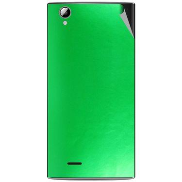 Snooky 44476 Mobile Skin Sticker For Xolo A600 - Green