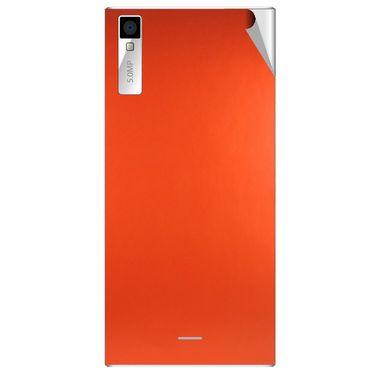 Snooky 44558 Mobile Skin Sticker For Xolo Q600s - Orange