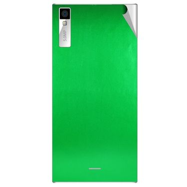 Snooky 44560 Mobile Skin Sticker For Xolo Q600s - Green