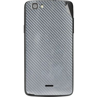 Snooky 44574 Mobile Skin Sticker For Xolo Q610s - silver