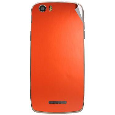 Snooky 44594 Mobile Skin Sticker For Xolo Q700s - Orange