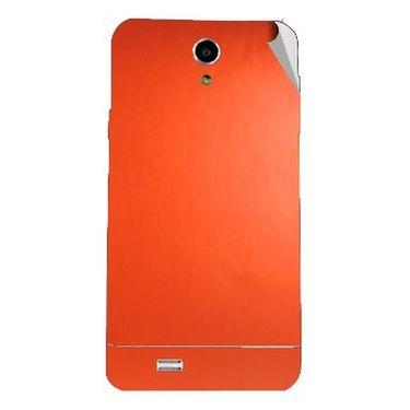 Snooky 44618 Mobile Skin Sticker For Xolo Q900 - Orange