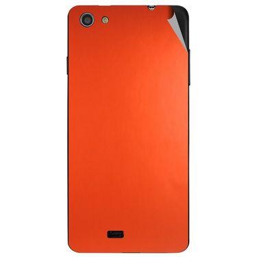 Snooky 44630 Mobile Skin Sticker For Xolo Q900s - Orange