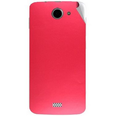 Snooky 44638 Mobile Skin Sticker For Xolo Q1000 - Red