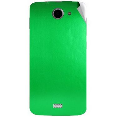 Snooky 44644 Mobile Skin Sticker For Xolo Q1000 - Green