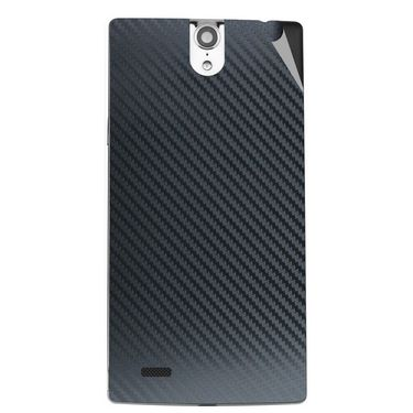 Snooky 44659 Mobile Skin Sticker For Xolo Q1010i - Black
