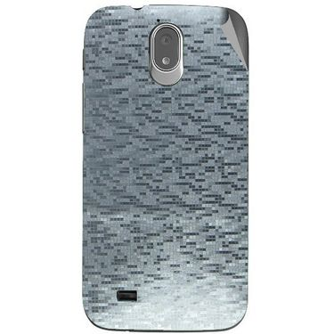 Snooky 44729 Mobile Skin Sticker For Xolo Play T1000 - silver