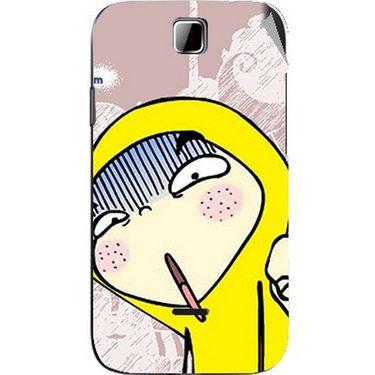 Snooky 45905 Digital Print Mobile Skin Sticker For Micromax Ninja 3.5 A54 - Multicolour