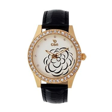 Chappin & Nellson Analog Round Dial Watch For Women_Cnl50w77 - White