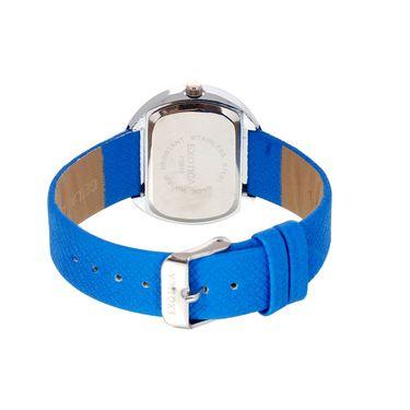 Exotica Fashions Analog Oval Dial Watch For Women_Efl24w60 - Blue