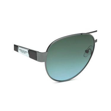Alee Metal Oval Unisex Sunglasses_142 - Blue