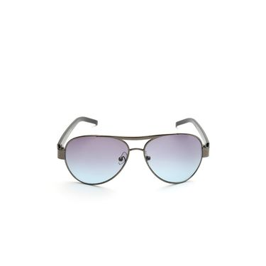 Alee Metal Oval Unisex Sunglasses_178 - Blue