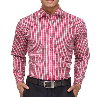 Rico Sordi Full Sleeves Checks Shirt_R002f - Pink