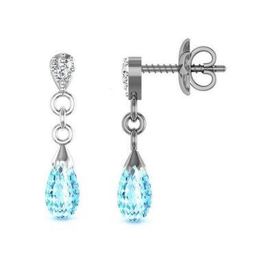 Ag Real Diamond Rani Earrings_Agge022w