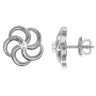 Ag Real Diamond Priti Earrings_Agse0005w