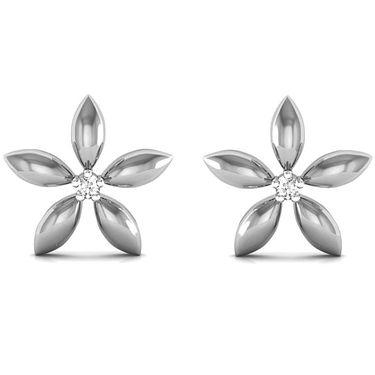 Ag Real Diamond Anushka Earrings_Agse0030w
