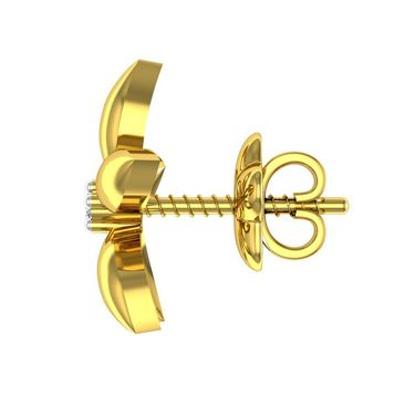 Ag Real Diamond Aarti Earrings_Agse0030y