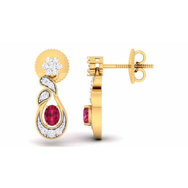 Kiara Sterling Silver Komal Earrings_5215e
