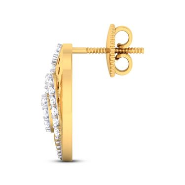 Kiara Sterling Silver Divya Earrings_5435e