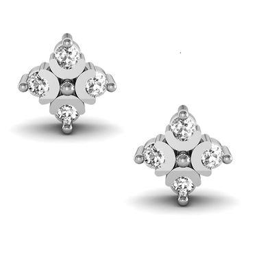 Avsar Real Gold and Swarovski Stone Kanyakumari Earrings_Ave003yb