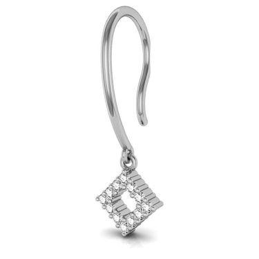 Avsar Real Gold and Swarovski Stone Kareena Earrings_Ave004wb