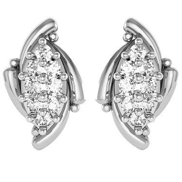Avsar Real Gold and Swarovski Stone Shraddha Earrings_Ave012wb