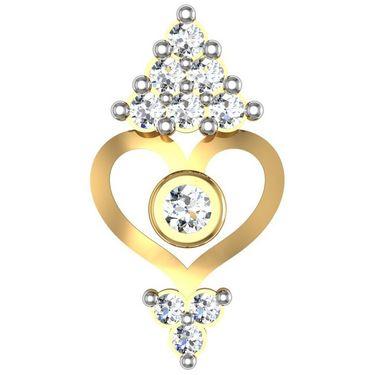 Avsar Real Gold and Swarovski Stone Radhika Earrings_Ave0156yb