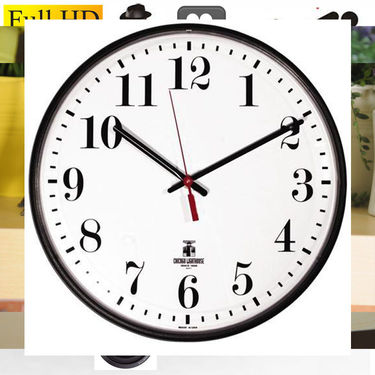 SPY WIFI WALL CLOCK CAMERA - CODE 335