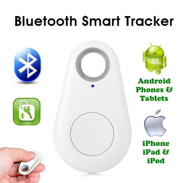 Gadget Hero's iTag Bluetooth Tracer Anti-Lost Alarm Remote Shutter Voice Recorder GPS Tracker Pink Key Finder Locator Alarm For IOS iPhone Android - Multi color