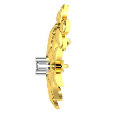 Avsar Real Gold & Swarovski Stone Poonam Necklace_Nl17yb