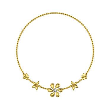 Avsar Real Gold & Swarovski Stone Kareena Necklace_Nl2yb