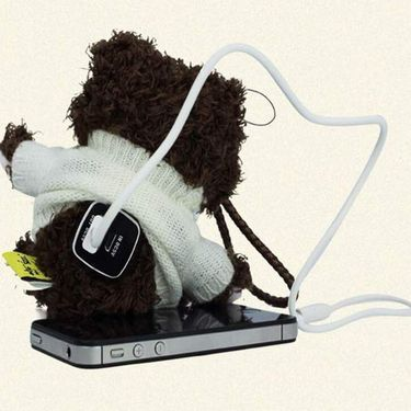 Go Hello Teddy Powerbank  - Brown