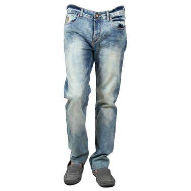 Branded Cotton Slim Fit Jeans_Uspab - Blue