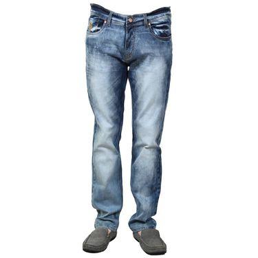 Branded Cotton Slim Fit Jeans_Uspadb - Dark Blue