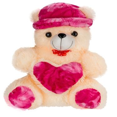 Kaku loveable Teddy with Cap& Loveble Heart_DKK-27 A
