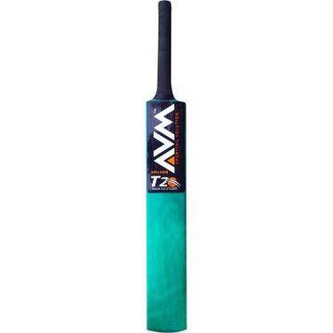 AVM Splash 20-20 Green Willow Cricket Bat (Size 5, 900-1000 g)